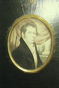 Copy of portrait in the library at Camden Park House.