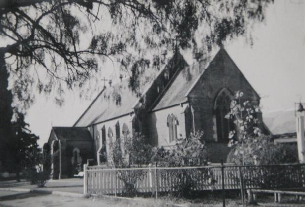 St Paul's Catholic Church, Camden. Copyright: Camden Historical Society.