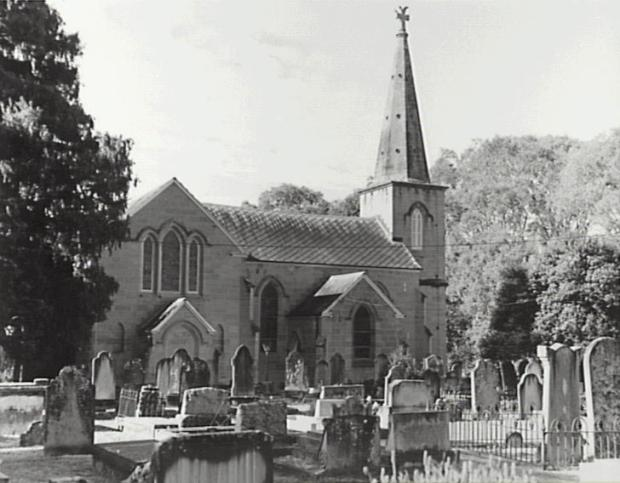 View from graveyard on western side. Copyright: Camden Council Library Service.