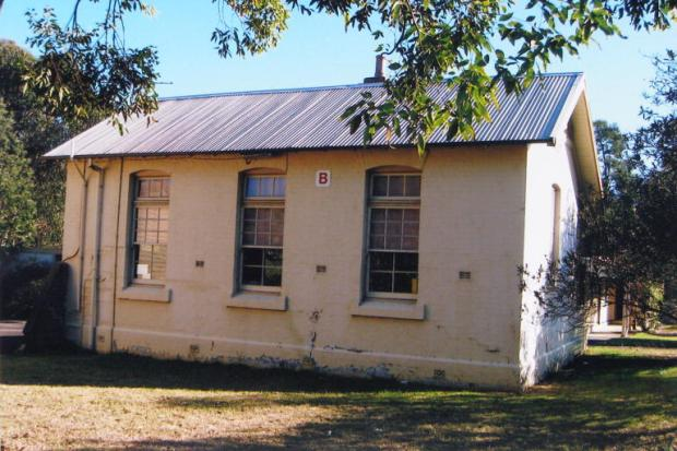 Original school building. 2007. Copyright: Camden Historical Society.