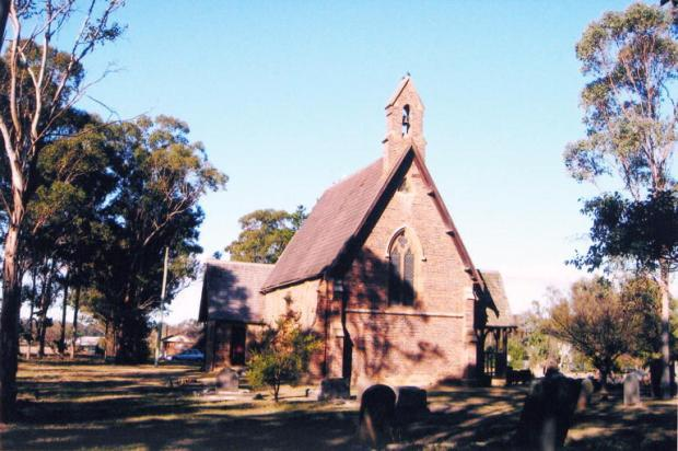 Holy Innocents' Anglican Church, Rossmore, 2007. Copyright: Camden Historical Society.