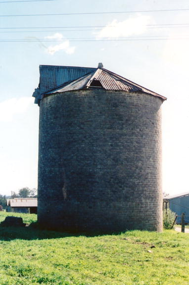 Old Silo at Oran Park, 1991. Copyright: Camden Council Library Service.